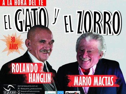 Rolando Hanglin y Mario Mactas llegan con