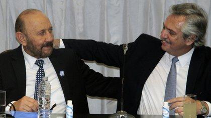 El presidente, Alberto Fernández, elogió reiteradas veces al gobernador formoseño, Gildo Insfrán, uno de sus aliados electorales.