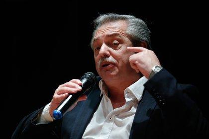 En la imagen, el presidente de Argentina, Alberto Fernández. EFE/Juan Ignacio Roncoroni/Archivo
