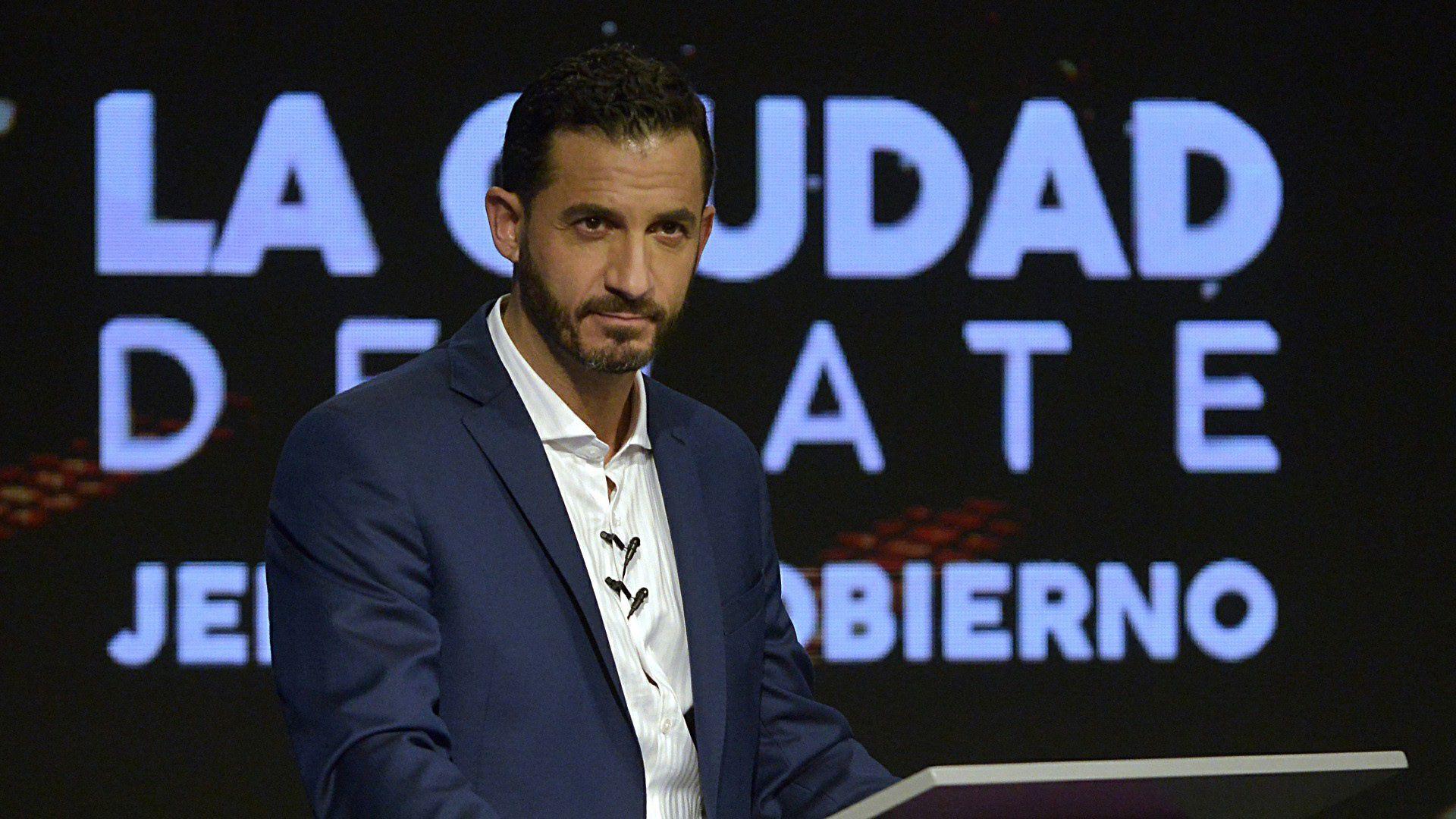 El candidato de Consenso Federal, Matías Tombolini