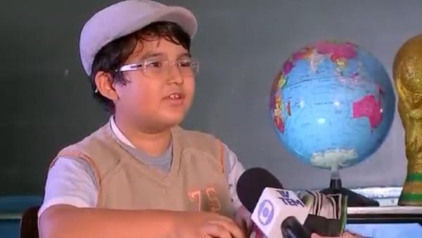 Pedro se convirtió en el protagonista del aula