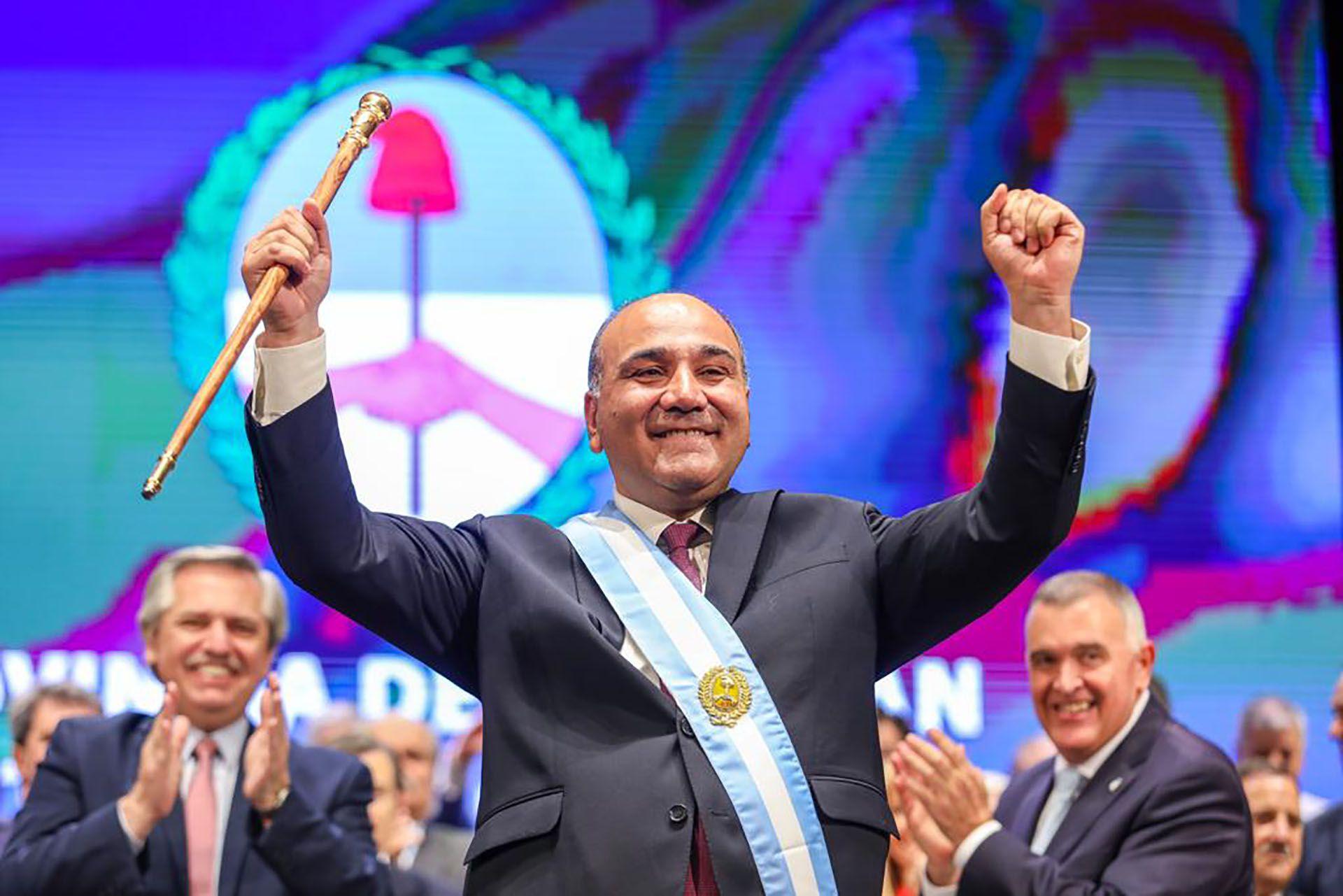 El gobernador de Tucumán, Juan Manzur