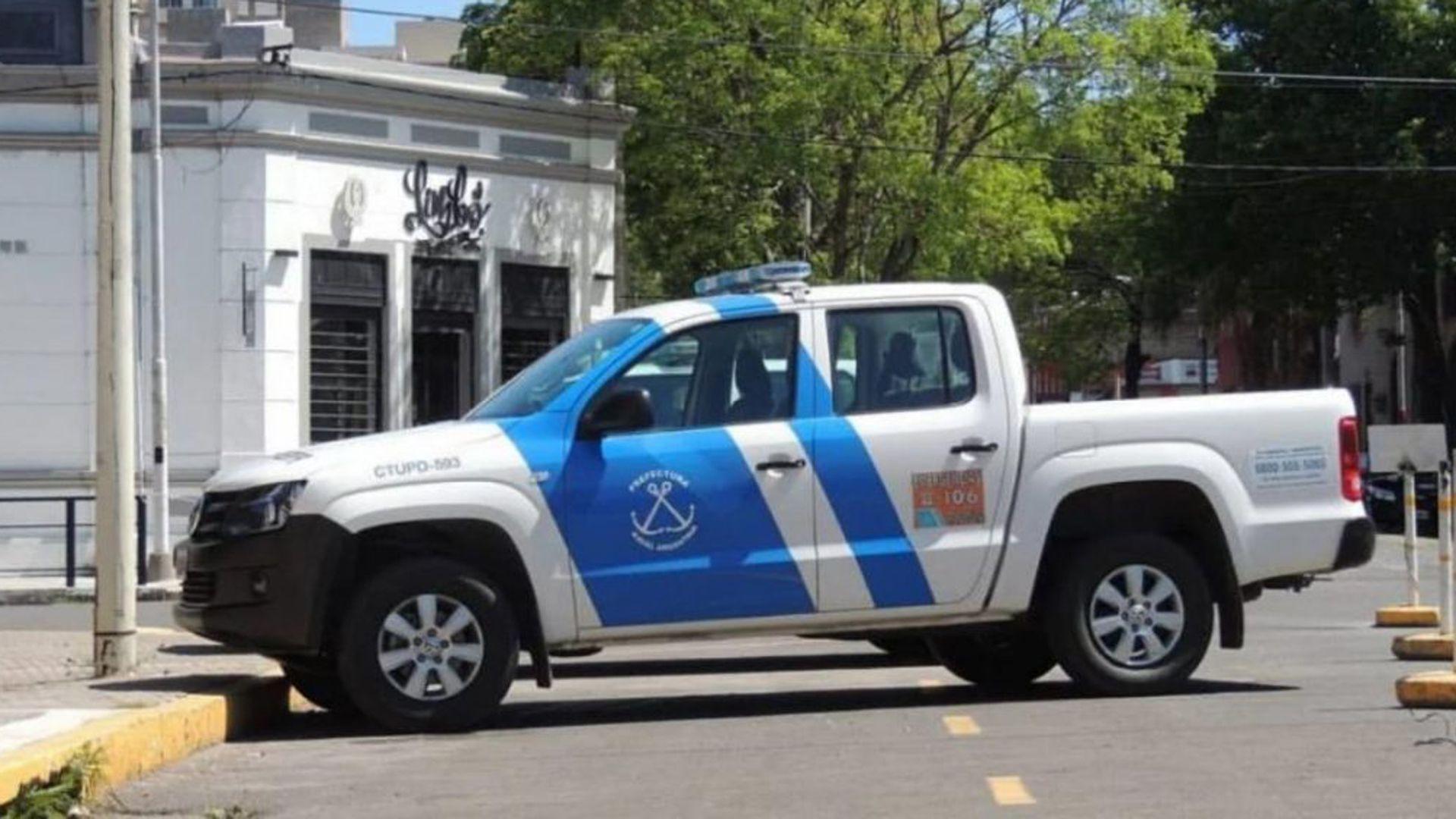 camioneta prefectura