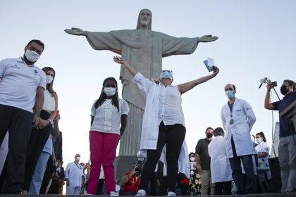El gobierno de Brasil comenzó la campaña de vacunación contra el coronavirus (REUTERS/Ricardo Moraes)