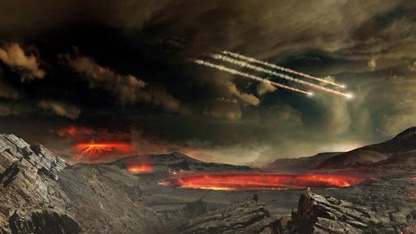 El choque provocó grandes fuegos y enormes cantidades de ceniza, que habrían oscurecido la luz del Sol durante casi dos años