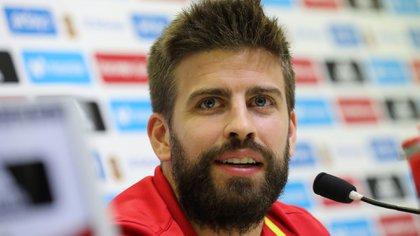 Gerard Piqué ha ofrecido una jugosa conferencia de prensa en Las Rozas, Madrid (Reuters)
