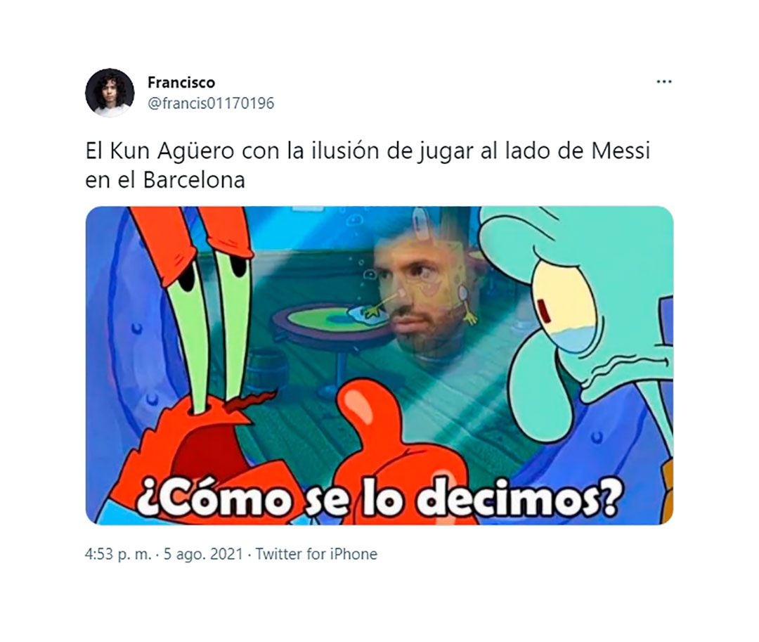 MEMES BARCELONA MESSI AGUERO