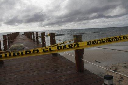 El huracán Delta es categoría 3 (AP Photo/Tomas Stargardter)