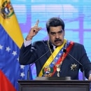 FILE PHOTO: Venezuela's President Nicolas Maduro speaks during a ceremony marking the opening of the new court term in Caracas, Venezuela January 22, 2021. REUTERS/Manaure Quintero/File Photo
