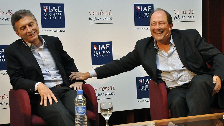 Mauricio Macri y Ernesto Sanz, cuando las coincidencias políticas eran absolutas