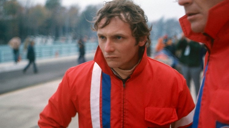 Lauda, antes del accidente. Un ingeniero del volante (Foto: The Grosby Group)