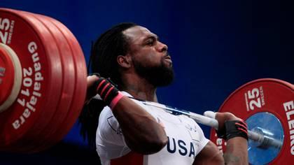 Kendrick Farris, levantador de pesas olímpico (AP)