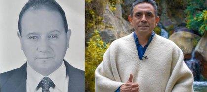 Aparecen referenciados: De izquierda a derecha, Agustín Rodríguez y José Humberto Rodríguez. Crédito Gobernación de Cundinamarca