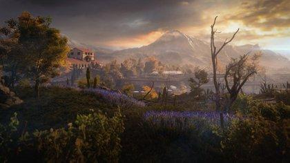 Con esta imagen IO Interactive anunció Mendoza como un destino en Hitman 3.