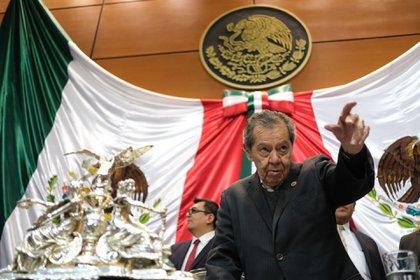 Porfirio Muñoz Ledo, por su parte, ha aceptado participar en la encuesta para la cesión del tie-break (Foto: Cuartoscuro)