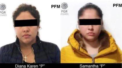 """Karen """"La Princesa"""" y su hermana Sam, hijas de """"El Ojos"""" también ya fueron detenidas"""