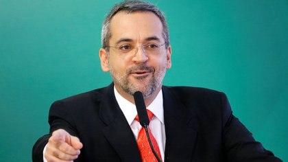Abraham Weintraub, ministro de Educación de Brasil (REUTERS/Adriano Machado)