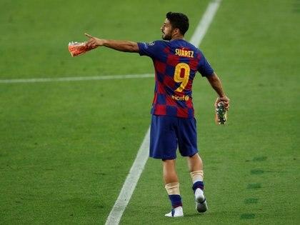 El delantero no continuaría en el FC Barcelona - REUTERS/Albert Gea