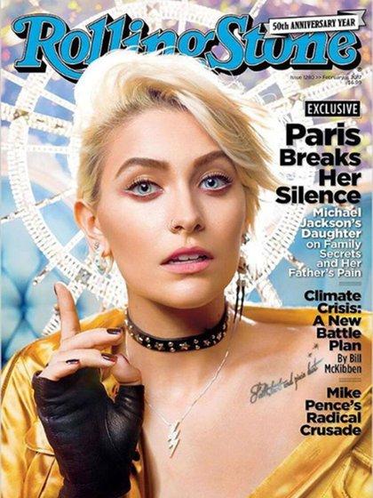 La entrevista de Paris Jackson a la revista Rolling Stone