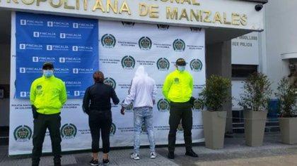 A pesar de que la mujer se arrepintió, el homicida cometió el crimen. Crédito: Policía Metropolitana de Manizales