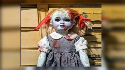 Muñeca embrujada se vendió en eBay por 5.600 dólares (Foto: eBay)