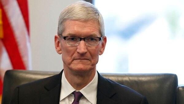 Tim Cook, CEO de Apple(AP Photo/Evan Vucci, File)