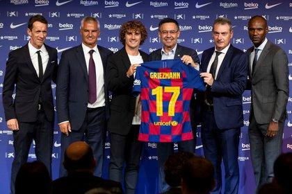 Griezmann llegó al Barcelona tras el frustrado esfuerzo por repatriar a Neymar (EFE / Enric Fontcuberta)
