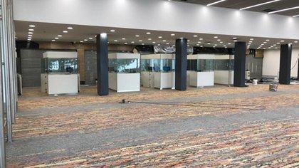 Las zonas de arribos y salidas de la terminal internacional duplicarán sus operaciones