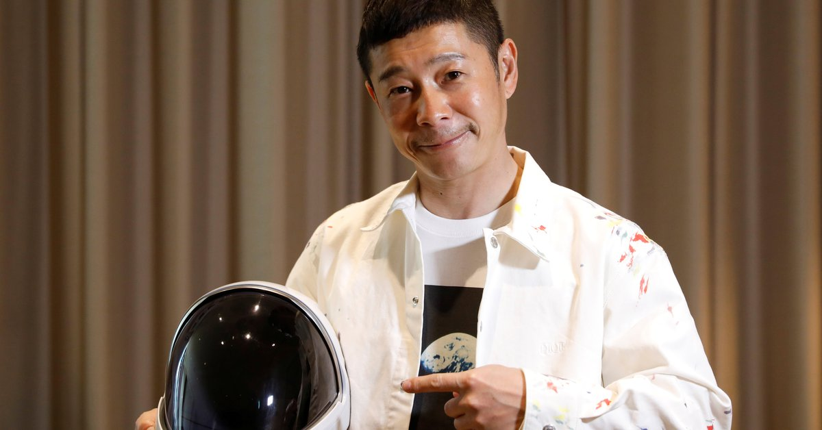 A Japanese Tycoon is looking for People for Moon Travel for Free in 2023