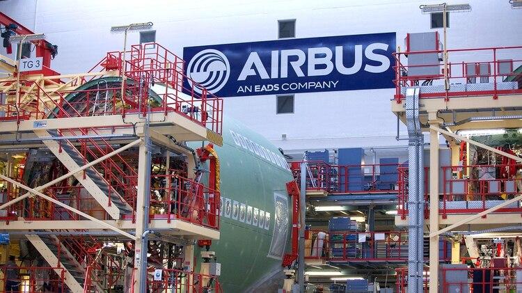 Una planta de Airbus, el fabricante deaviones francés (Krisztian Bocsi/Bloomberg)