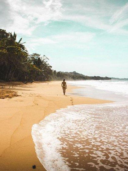 La elegida por los surfistas para practicar el deporte. Una de las mejores playas del pacífico de Panamá (Instagram: @visitpanama)