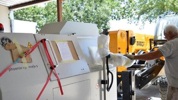 Las flamantes adquisiciones se importaron, todas ellas desde Alemania, excepto por la impresora de plástico, de origen estadounidense