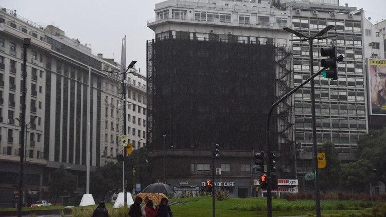 Mañana de apagón en la ciudad de Buenos Aires (Franco Fafasuli)