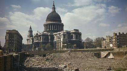 """Londres después del """"Blitz"""""""