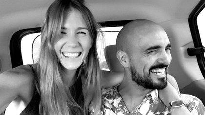 Abel Pintos y Mora Calabrese están juntos desde 2013 (Instagram @abelpintos)