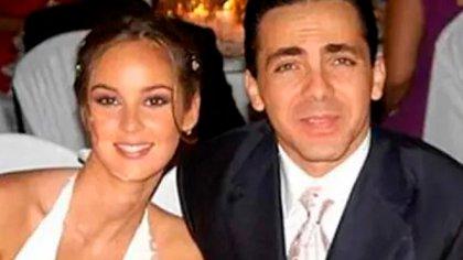 Gabriela Bo, en su boda con Cristian Castro. El matrimonio terminó en un escándalo