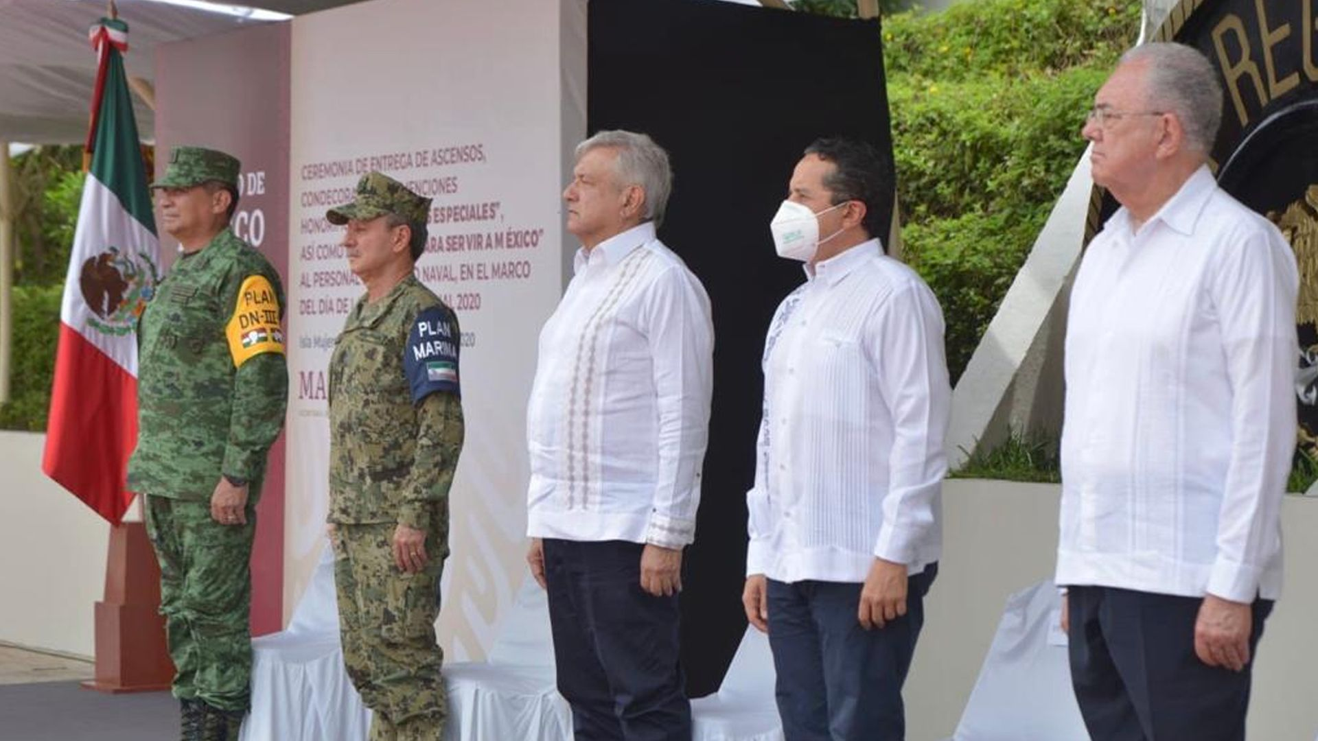amlo - lopez obrador - mexique - 0602020 - quintana roo