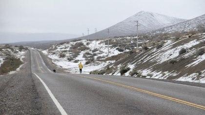 En el recorrido afrontó tramos de frío, calor, falta de oxígeno, tormentas, nieve
