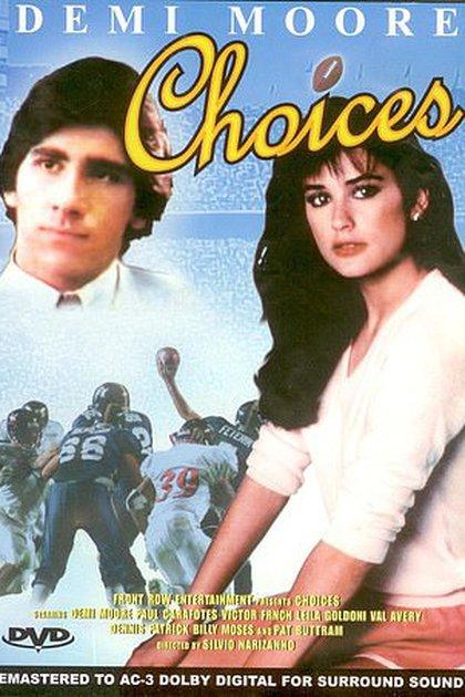 """Paul Carafotes y Demi Moore protagonizaron la película """"Choices"""" en 1980, donde se conocieron (Foto: Especial)"""