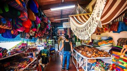 Mercado de artesanías de Masayas (Foto: Instituto Nicaragüense de Turismo)