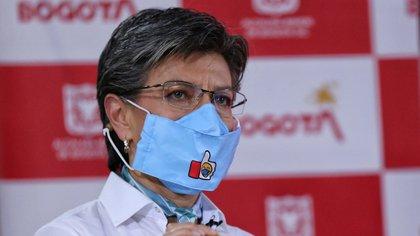Claudia López, alcaldesa de Bogotá, Colombia. Foto: Colprensa.