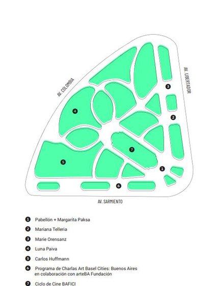 Parque Semana del Arte, Plaza Seeber