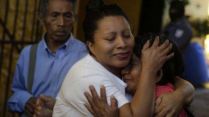 Teodora Vasquez, otra mujer criminalizada por sufrir un aborto, tras salir en libertad en enero de 2018 (EFE)