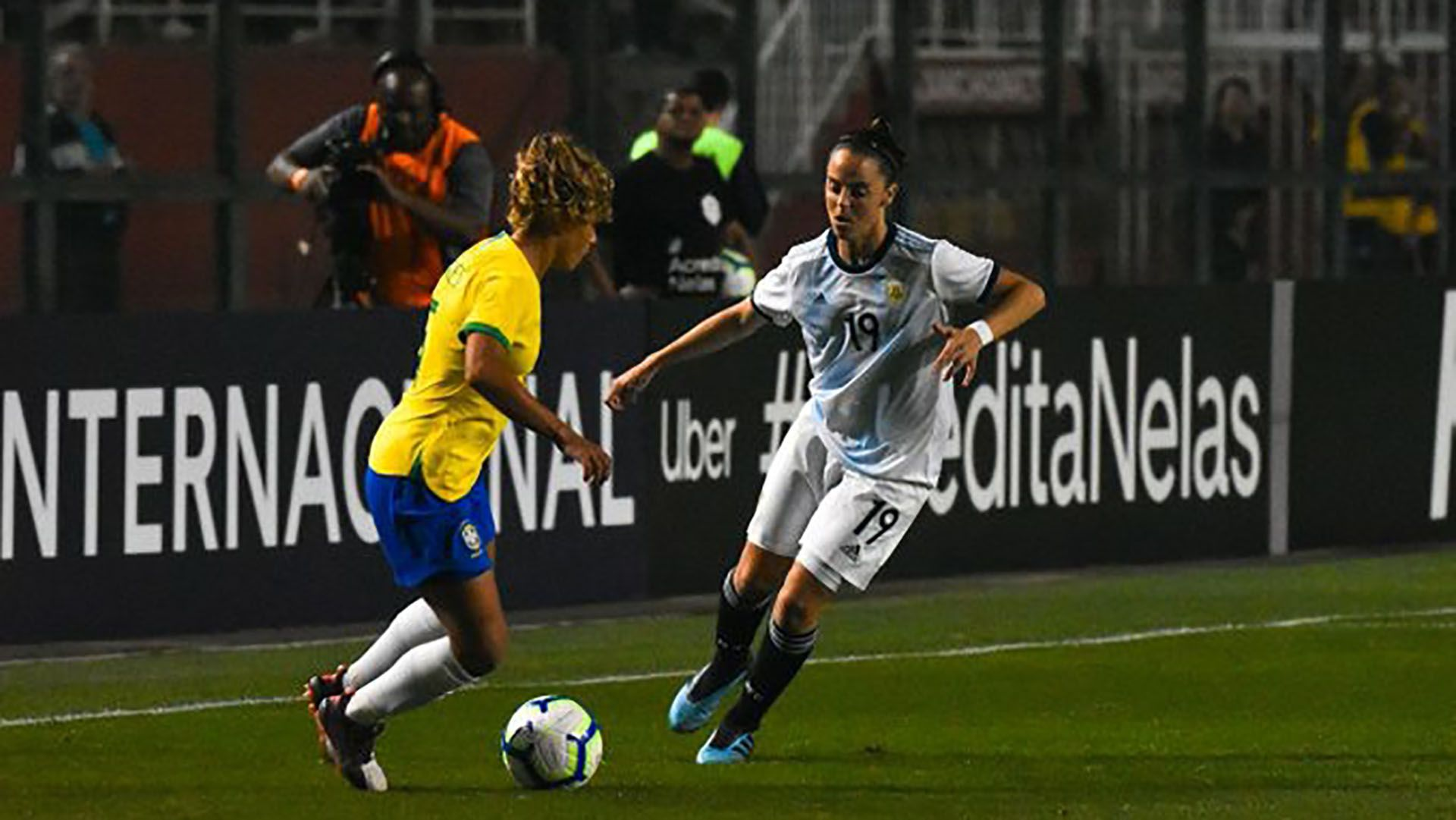 Argentina había caído por 5-0 ante Brasil en la primera fecha (Crédito: Stefanía León – AFA)