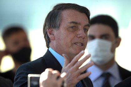 El presidente de Brasil, Jair Bolsonaro, comparó el modelo argentino del presidente Fernández con Venezuela