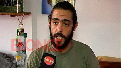 Malajovich, antes de ser detenido, en una nota a la TV de Paraná donde habló sobre su militancia