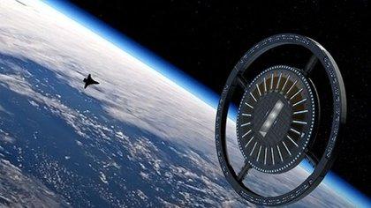 El proyecto de estación y hotel espacial llamado Von Braun, será una realidad en la órbita de la Tierra en los próximos años (Gateway Foundation)