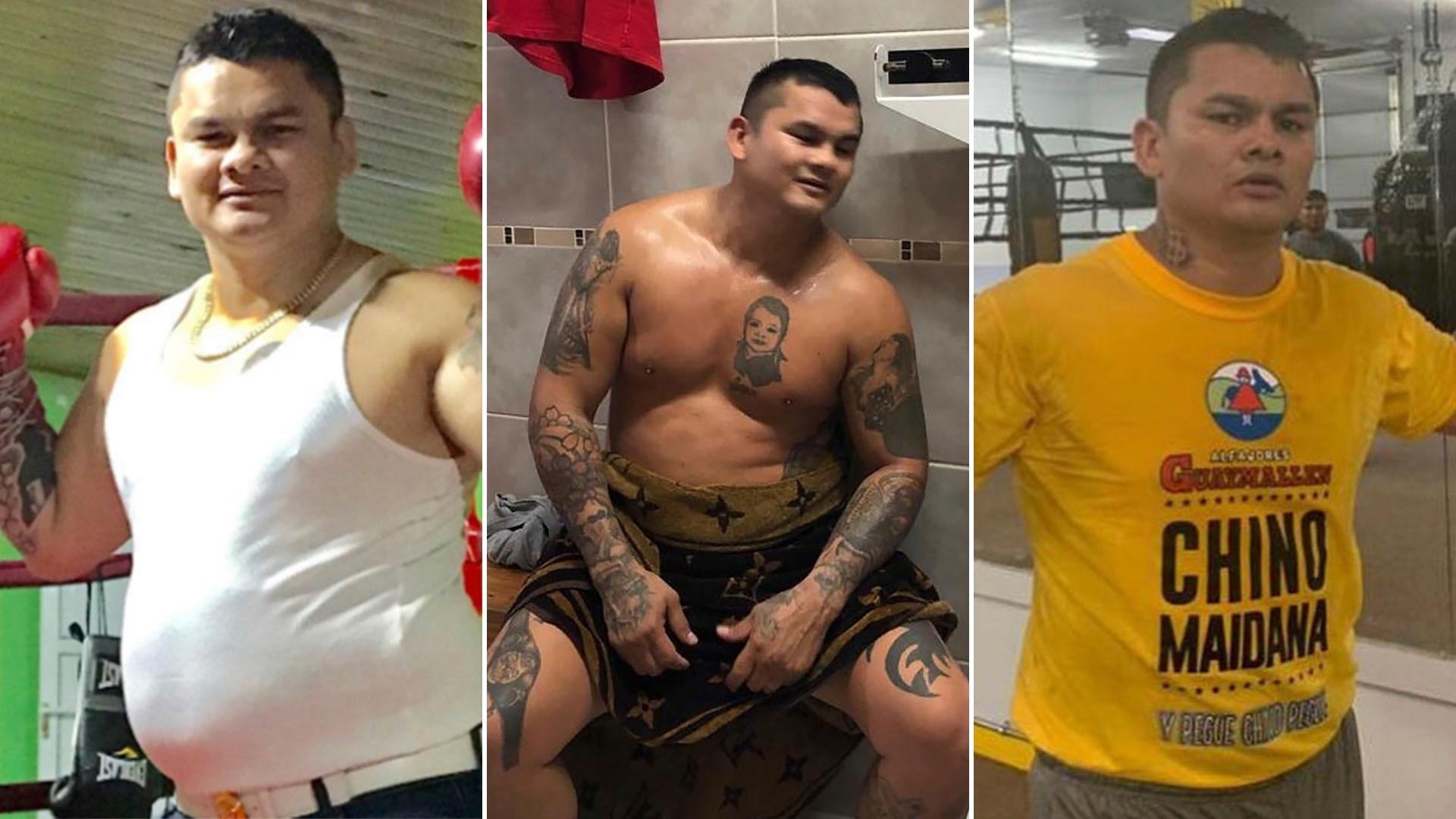 """Así está el """"Chino"""" Maidana luego de bajar 11 kilos en dos semanas ..."""