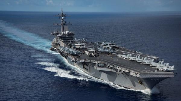 El portaaviones USS Carl Vinson