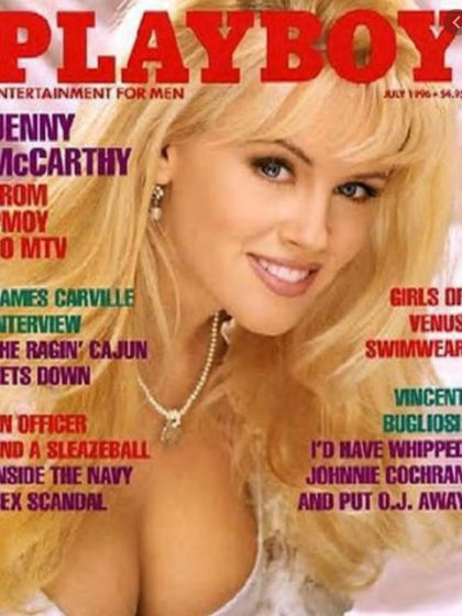 Jenny McCartney ha posado en varias ocasiones en la revista